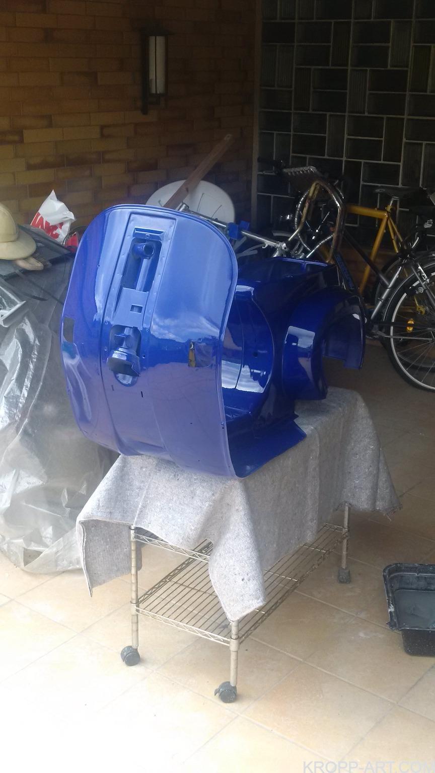 BLUE – Vespa PK 80