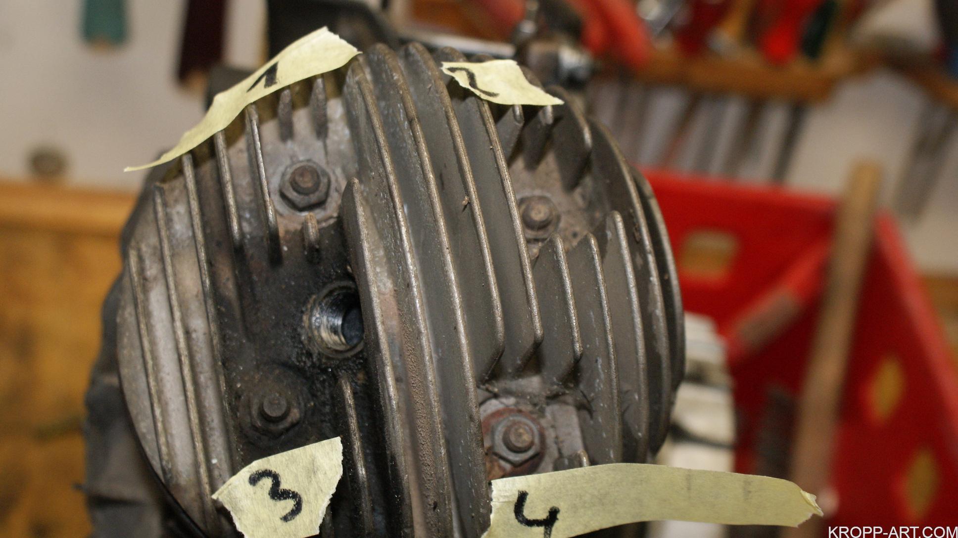 Engine rework – Vespa PK 80