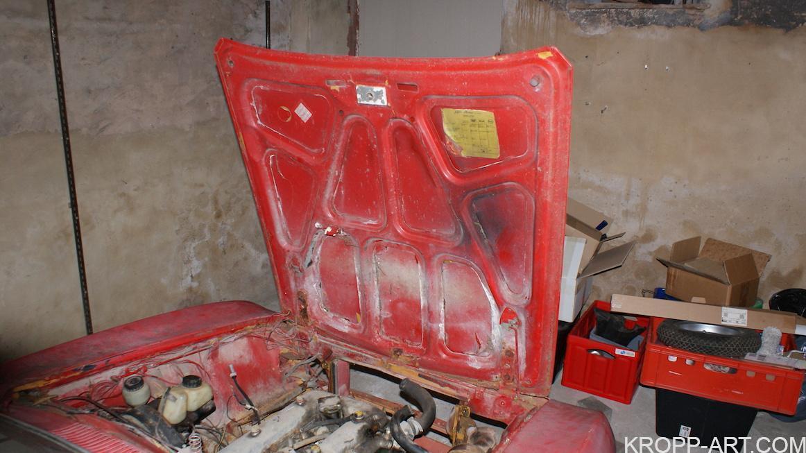 72 Giulia GT – Dismantling – Front