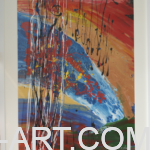 #13 – FLUID – ABSTRACT ART – 2016