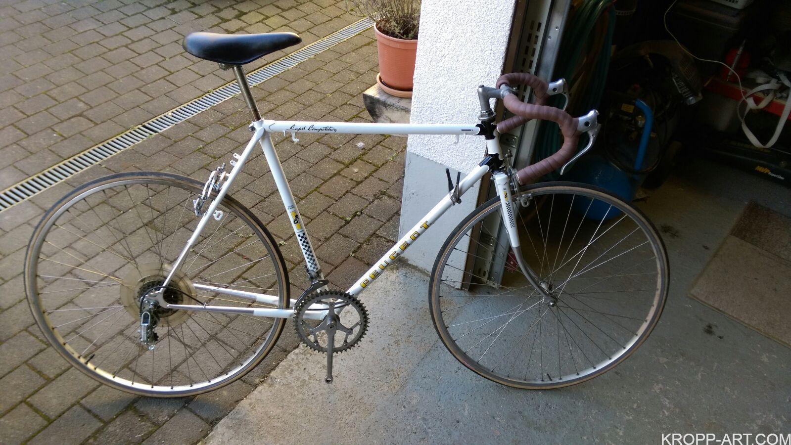 1970 – Peugeot PX 10 – Racing Bike – Rework